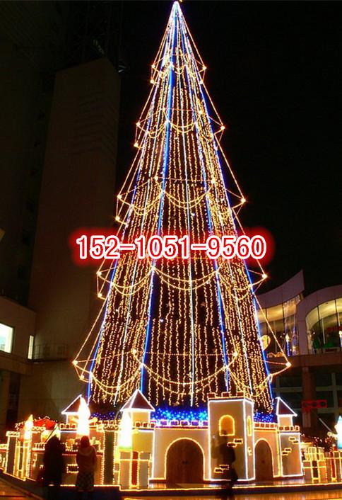 大型圣诞树出售租赁圣诞树生产厂家圣诞树定做加工