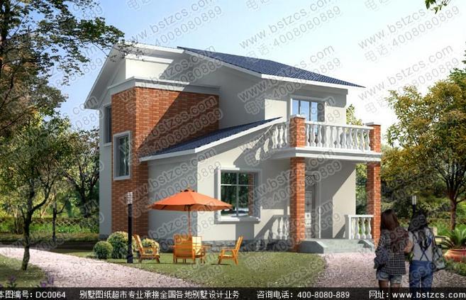 无论是外在的造型,还是内在的搭配,如今的别墅设计是更加具有特色。两层别墅也是我们目前比较常见的别墅。它的人性化设计风格,并不昂贵的价格,都成为了我们青睐两层别墅的理由。下面就给大家推荐一款简单实用的二层农村别墅。 80平方米二层农村现代小别墅设计全套施工图纸 编号: DC0064 层数: 二层 结构形式: 砖混结构 主体造价: 18-22万 开间: 8.