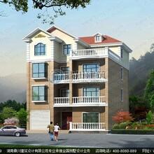四层别墅设计_农村自建的实用四层带车库别墅设计图纸及效果图图纸
