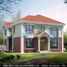 复式别墅设计_复式二层带旋转楼梯别墅设计效果图
