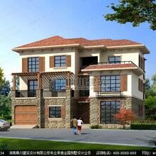 三层别墅设计_三层带车库别墅设计效果图房屋户型设计图