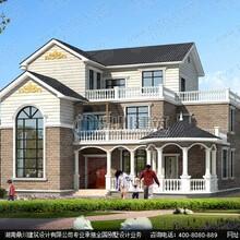 复式别墅设计_复式三层旋转楼梯带露台别墅设计效果图