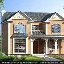农村自建二层小别墅设计效果图