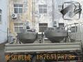 蒸汽加热夹层锅,可倾式夹层锅,卤肉夹层锅图片