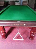 星牌台球桌转让,星牌钢库台球桌图片