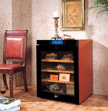 上海雪茄柜批发价钱实木款雪茄柜定做储存雪茄的展示柜500支装雪茄储存柜