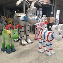 狗狗制作彩绘模型出售狗狗展览模型出租价格
