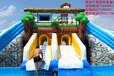 大型户外游乐设备充气水滑梯充气滑梯组合水上游乐设施