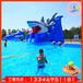 新款熱賣充氣玩具水滑梯大型戶外水上樂園游樂設備兒童成人游泳池