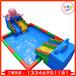 新款熱銷戶外大型水上樂園設備兒童充氣水滑梯成人支架游泳池廠家