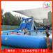 2020新款戶外水上樂園移動大型支架水池滑梯組合兒童成人游泳池