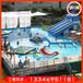 熱賣新款大型室外充氣水池水滑梯移動支架游泳池水上樂園設備