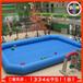春夏季熱賣大型戶外廣場兒童充氣玩具水池加厚充氣游泳池手搖船池