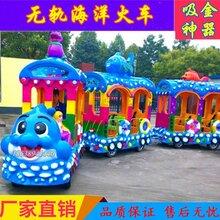 无轨观光火车厂家景区公园商场大型燃油电动小火车儿童游乐设备图片