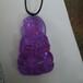 紫罗兰色宝石水晶玻璃料