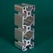 济南铝材机架展架铝材围栏防护