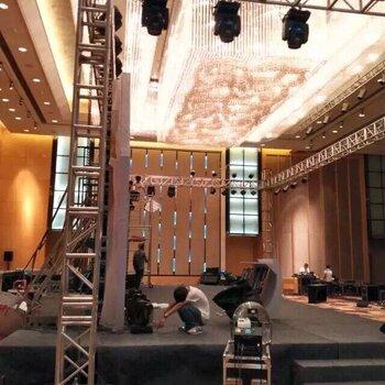 廣州白云區太和鎮朝亮北路六一舞臺搭建、61音響出租、燈光泡泡機