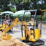 牌益智儿童挖掘机小孩子挖沙挖土机挖海洋球的儿童挖掘机