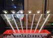 廠家租售七彩跑馬燈手印啟動臺,慶典主題活動亮點道具