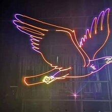 提供震撼开场仪式激光飞鹰启动,手印能量柱启动,3D全息风扇台