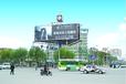 建华路与乌兰大街交汇处三面翻广告招商