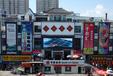 宁安渤海商城楼体LED屏广告招商