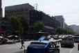 兴国路阳光假日宾馆楼顶喷绘大牌广告招商
