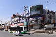九台市:九泰医药超市楼体LED广告招商