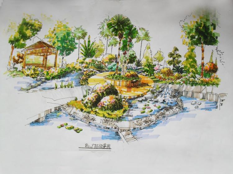 草堂路园林设计手绘培训零基础