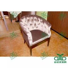 热卖卡座沙发奶茶店餐厅卡座沙发带扶手单人沙发