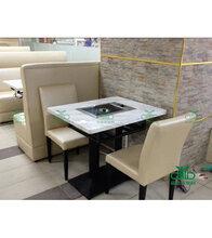 茶餐厅金属软包椅子批发金属餐椅软包椅专业定做深圳运达来