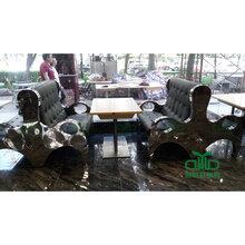 厂家直销餐厅家具石英石桌面配不锈钢桌脚本公司厂家专业生产货真价实