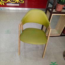 甜品店主题餐厅实木A字椅直销咖啡厅西餐厅桌椅组合