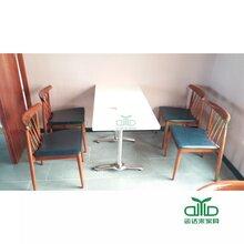 供应大理石餐桌奶茶店桌子高档中西餐餐厅餐桌椅组合