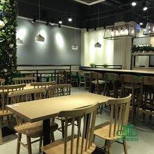 板式茶餐桌椅组合餐厅多人位餐桌长方形酒店饭店餐馆食堂桌子