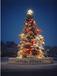 苏州商场圣诞装饰、苏州圣诞树制作安装、苏州圣诞夜景装饰