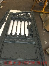 中式庭院大门规格欧式别墅大门图片铝艺大门价钱佛山名庭铝艺专业从事铝合金大门加工制作