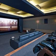 成都家庭影院、电影院、隔音私人影吧声学装修设计方案图片