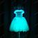led灯短裙