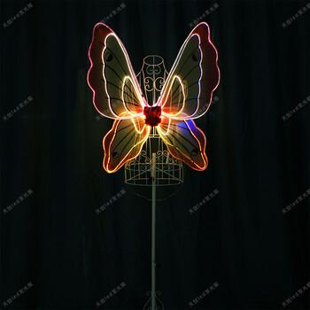 led发光翅膀
