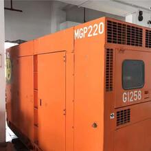 进口日本低噪音160KW二手三菱静音箱6D22-T柴油发电机组