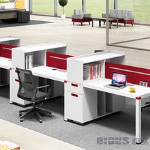 事业单位职员胶版组合办公桌椅生产厂家现代职员组合办公桌椅批发厂家图片
