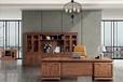 广东迪欧家具?#30340;?#21150;公桌老板班台XY-01D32新中式古典家具