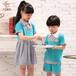 新款幼儿园园服夏装批发六一儿童节合唱表演服厂家直销