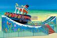 嘉信游乐超人气儿童乐园设备激浪旋艇游乐设备