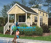 河南轻钢别墅厂家,太行山木屋,钢结构房,木结构别墅图片
