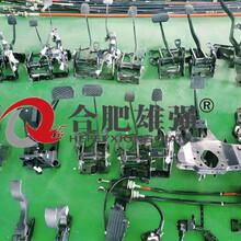 汽车刹车踏板性能检测试验台架图片
