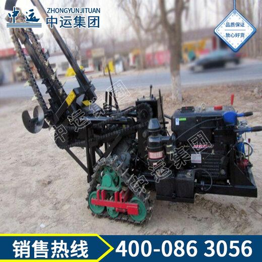 履带式开沟机使用方法履带式开沟机厂家现货