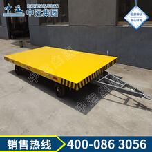 厂区平板车,电动平板车运输车,小型平板车图片