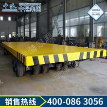 100吨港口物流重型平板牵引拖车平板牵引拖车,四轮转向平板牵引拖车图片